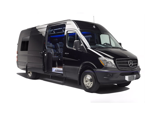 14 passenger Sprinter Luxury Van