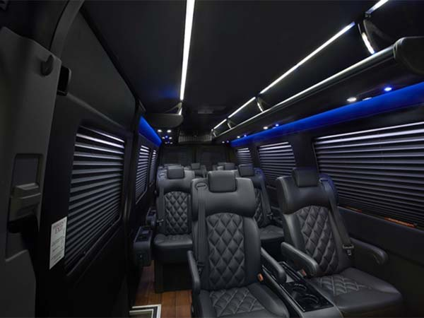 Sprinter Luxury Van interior