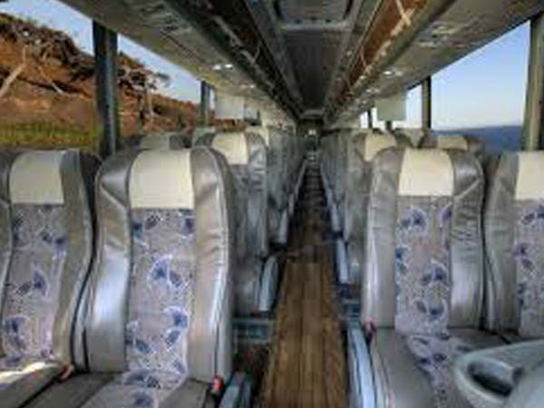 Luxury Motorcoach interior