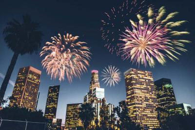Ring in the New Year in LA and Look Forward to a Great 2019
